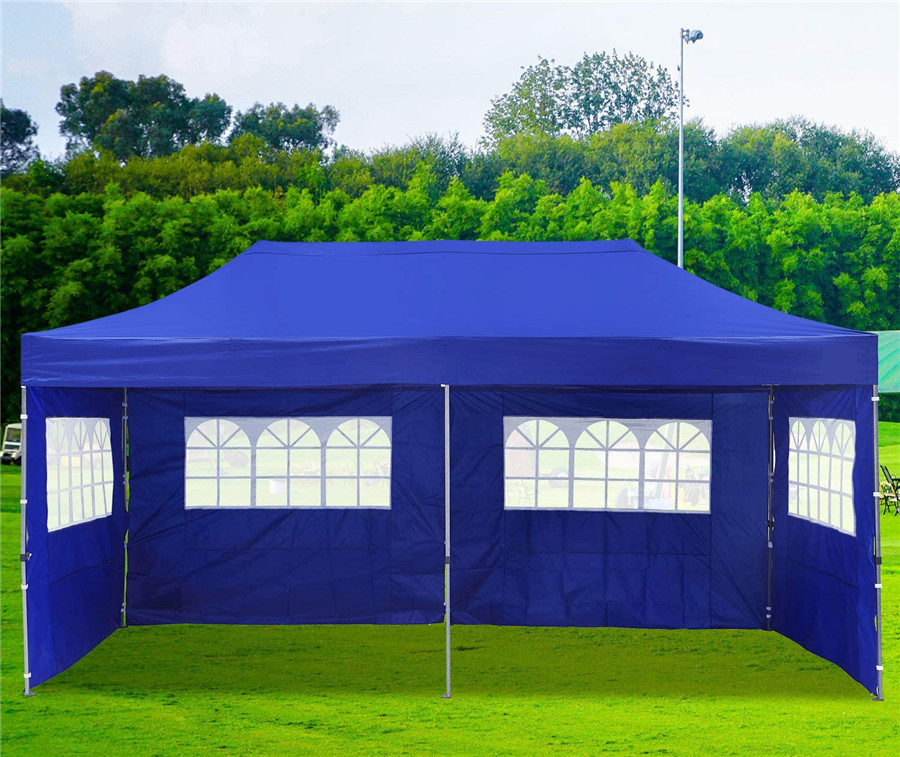 Outdoor Folding Gazebo with Sidewalls 3x6m xijie Applications